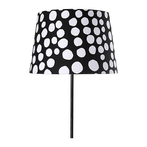 abat jour noir et blanc chez ikea l 39 univers de miss r. Black Bedroom Furniture Sets. Home Design Ideas