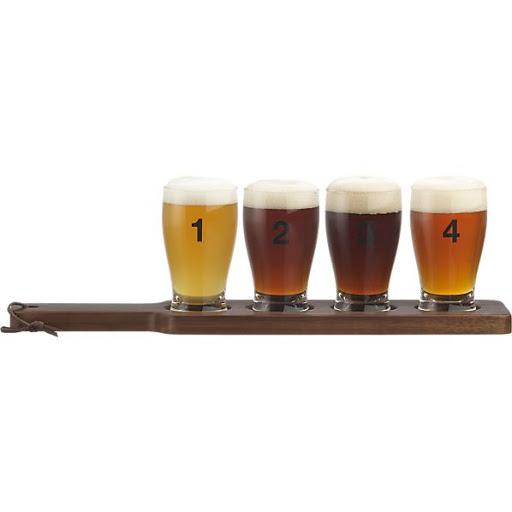 Dégustation de bières Crate and Barrel