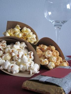 Cornet de popcorn