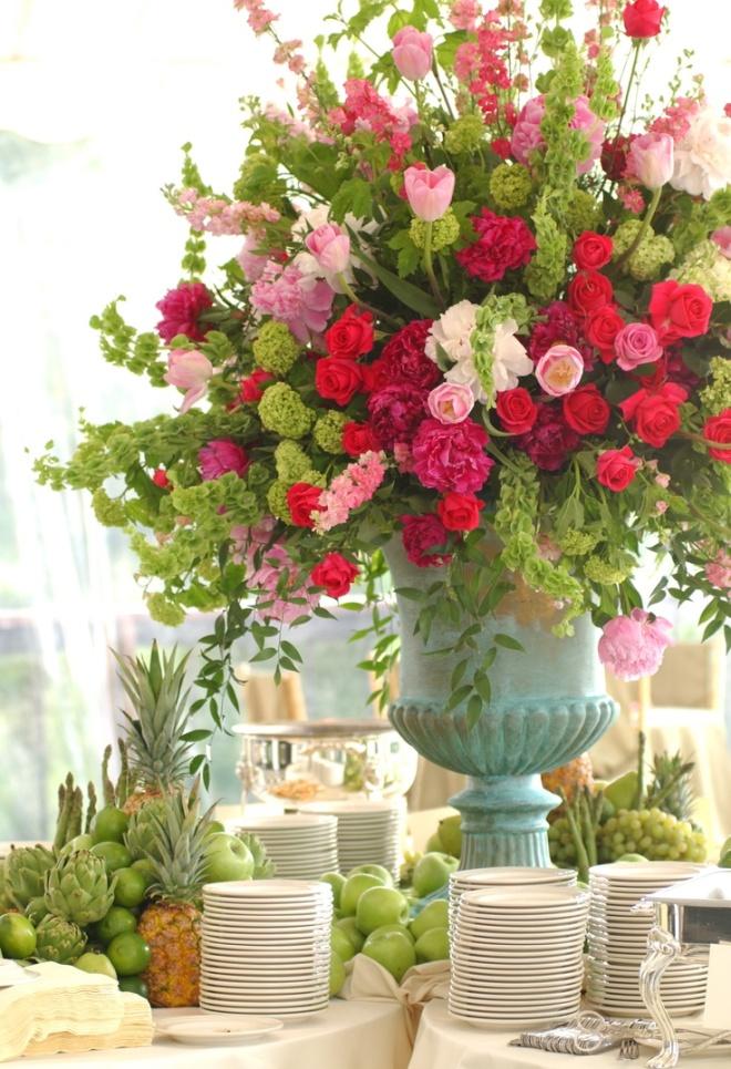 Immense pot de fleurs